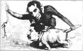 Lincoln as a monkey